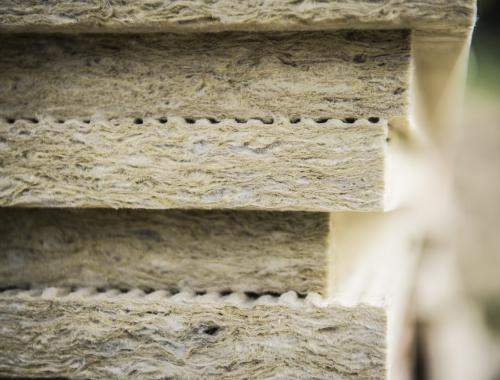 Rock mineral wool for 3 mineral wool insulation