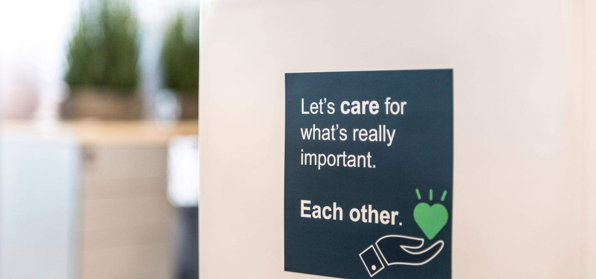 Let's care for what's really important, each other - Knauf Insulation