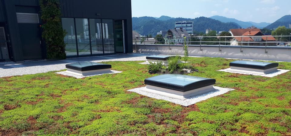 Urbanscape roof solution