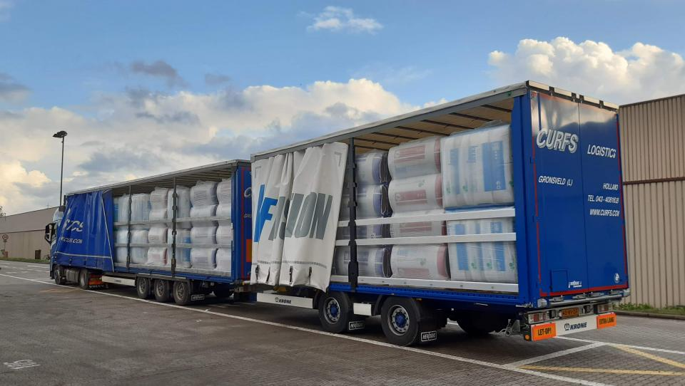 Knauf Insulation delivers a truckload of benefits to customers