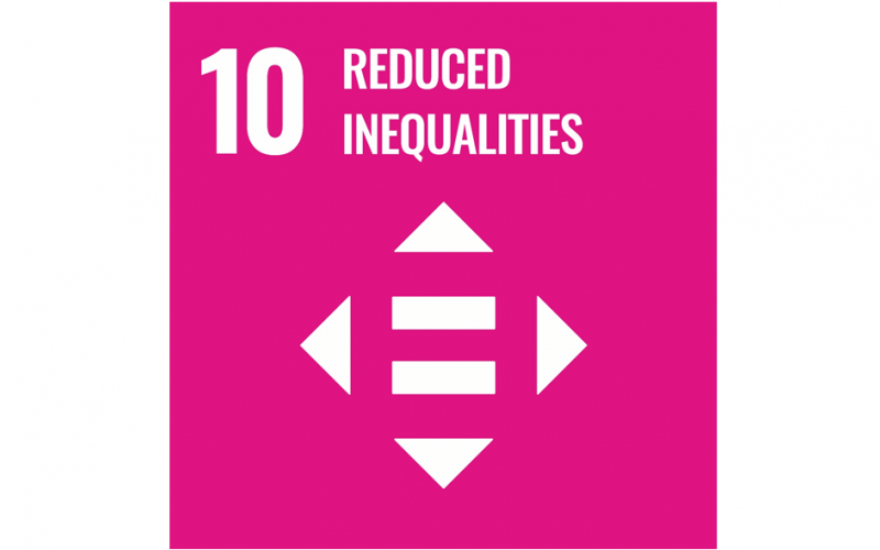 UN Sustainability Goal, Reduced Inequalities